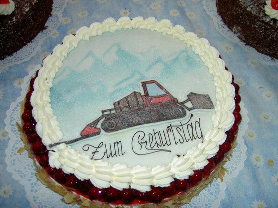 Himbeertorte : Zum Geburtstag