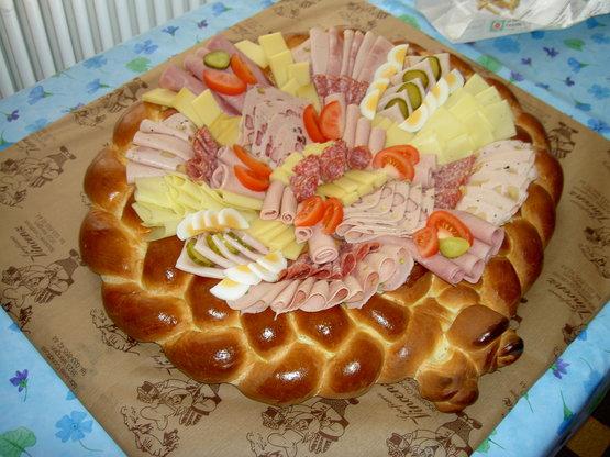 Fleisch - Käse Platte